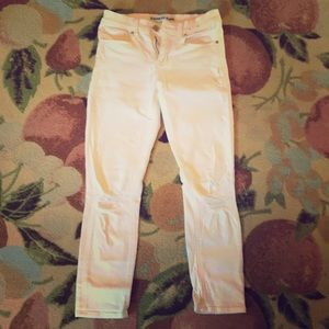 🌟✨white stretchy Express jeans!✨🌟